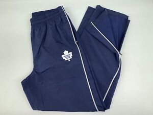 New! Under Armour Toronto Maple Leafs NHL Pro Stock Hockey Coach Rink Pants L