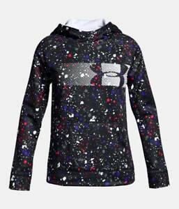 NWT UNDER ARMOUR STORM Fleece Highlight Girls Hoodie Multicolor SELECT SIZE