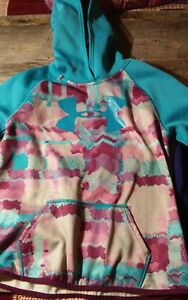 Under Armour Girls Youth Large Storm Hoodie Lot. Of 2 YLG