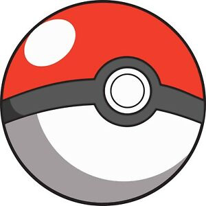 POKEBALL POKEMON DECAL STICKER 3M USA MADE TRUCK BIKE HELMET VEHICLE WINDOW WALL