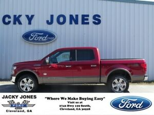 2018 F-150 King Ranch 2018 Ford F-150 Ruby Red Metallic Tinted Clearcoat with 31 Miles available now!