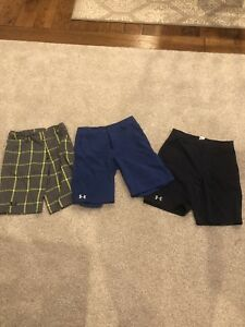 Under Armour Boys Shorts Size Youth Medium