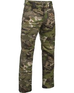 Under Armour Stealth Mid Season Wool Camo Real Tree Xtra Hunting Pants Mens