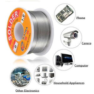 1.8oz 1mm Tin Lead Solder Wire Electrical Melt Rosin Core Soldering Wire Kit 50G