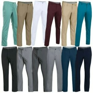 2018 Under Armour Mens Match Play Tapered Leg Trousers - Golf Performance Pants