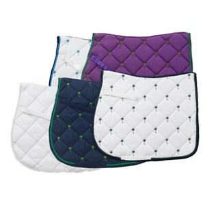Centaur Tropical All Purpose Saddle Pad Embroidered and Quilted in Fun Colors