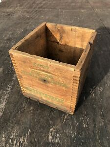 Extremely Rare Remington Wooden Ammo Box 32-20 32 Win Mar & Rem