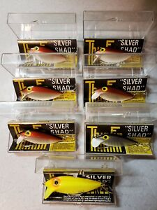Vintage STORM Thin Fin Pre-Rapala NOS Lot of 7 in original containers