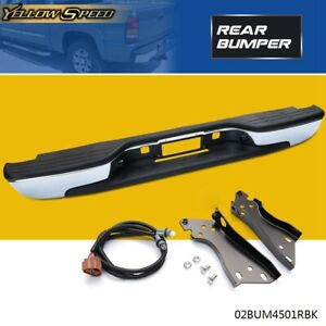 US For 1999-2007 CHEVY SILVERADO/GMC SIERRA 1500 REAR BUMPER 2500 2005 2006
