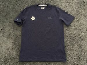 New! Under Armour Toronto Maple Leafs NHL Pro Stock Hockey Player Gym Shirt M