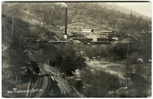 1907 RPPC KENNETH CA COPPER MINING MAMMOTH SMELTERSHASTAREDDING~PHOTO POSTCARD