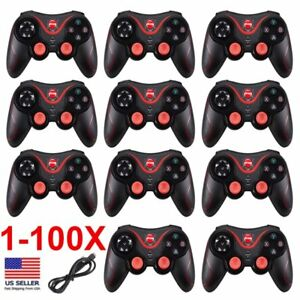 LOT Remote Wireless Bluetooth Game Controller Gamepad for Android Phone PC US