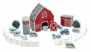 Farm Toys For Boys Toddlers Building Age 4 5+ Block Construction Preschool Gift