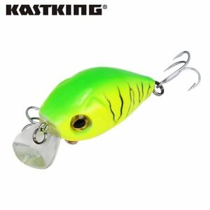 8pcslot Retail A+ fishing lures assorted colors minnow crank 50mm 7.2gmagnet