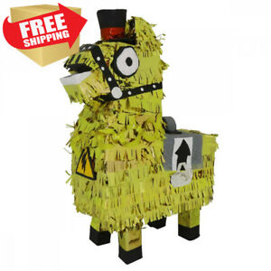 LYTIO Golden Llama Pinata Ideal for Parties Center Piece or Photo Prop and...