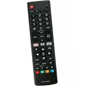 New AKB75095307 Remote Control Replace for LG Smart TV 43LJ5550 49LJ550M 55LJ555