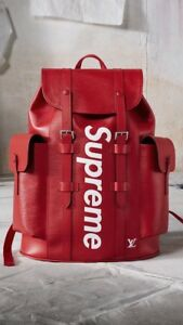 LOUIS VUITTON x SUPREME LV BACKPACK CHRISTOPHER