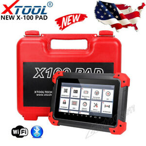 NEW! XTOOL X-100 PAD Tablet OBD2 Scan Programmer Odometer Correction EEPROM USA
