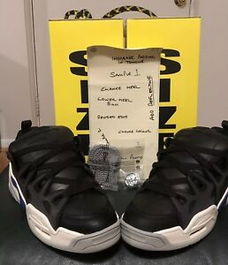 Under Armour x ASAP ROCKY SRLo AWGE Black White Men's Size 11 *SOLD OUT*