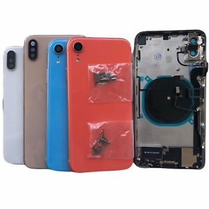 NEW Back Glass Housing Cover Frame Assembly For iPhone 8 Plus X XS Max XR 11 Pro $53.49