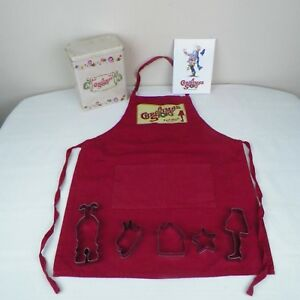 A Christmas Story Tin Apron Cookie Cutters Recipe Book Leg Lamp Ralphie 2008