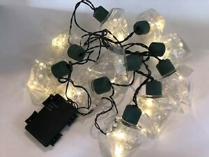 10 Count Diamond Novelty String Lights Battery Operated