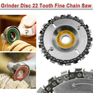 New Grinder Disc 22 Tooth Fine Chain Saw 4