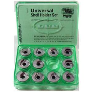 LEE PRECISION Gunsmithing Tools 90197 Universal Press Shell Holder Set (Clear)