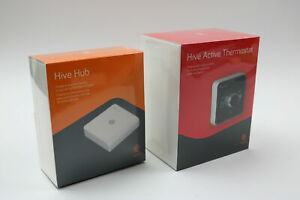 Hive Heating and Cooling Smart Thermostat Pack Thermostat + Hive Hub Works