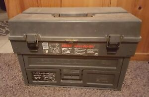 Vintage Plano Phantom Pro 797 Fishing Tackle Box USED CONDITION