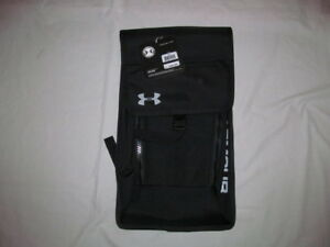 Under Armour Spartan Bey Pack 1272230  man black  backpack  Brand New