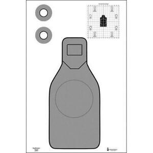 US Marshals Service Qualification Target  Pack of 25