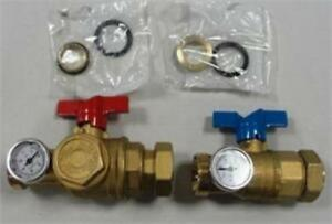 Uponor TruFLOW Manifold Supply and Return Ball Valves: A2631250
