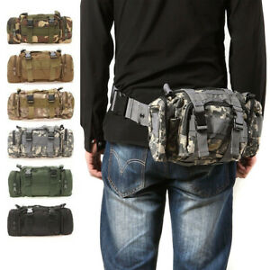 Utility Tactical Waist Pack  Bag Pouch Military Camping Hiking Outdoor Belt Bags