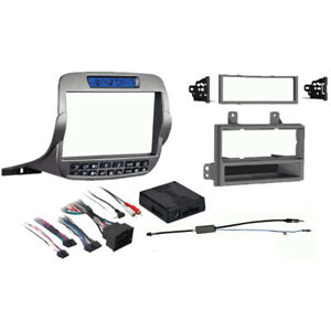 Chevrolet Camaro 2010-2015 Single or Double DIN Stereo Radio Install Dash Kit