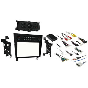 Fits Infiniti G25 2011-2012 Single or Double DIN Stereo Radio Install Dash Kit