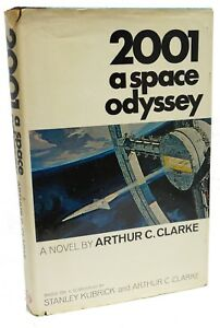 2001 A Space Odyssey ~ First Edition ~ Arthur C Clarke ~ 1968 ~1st Printing