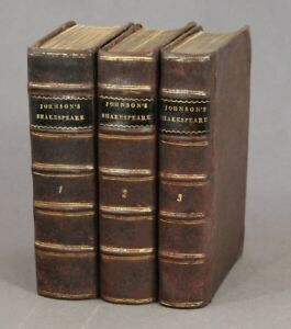 plays of William Shakespeare in eight volumes with the corrections 1765 Theatre