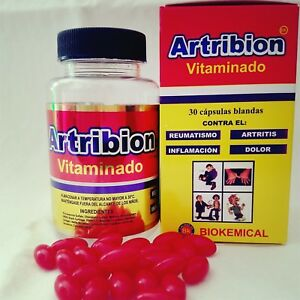 ARTRIBION & ORTIGA CURCUMA / ARTHRITIS join pain 30 SOFTGEL caps 100% original