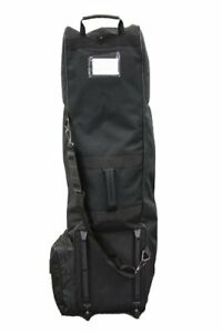 Club Champ Golf Bag Travel Cover Black Lightweight Durable and Heavy duty