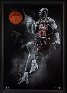 Michael Jordan Hand Signed Autographed NBA Basketball Bulls Break Thru UDA 2123