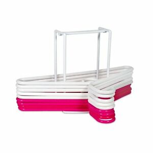 Laundry Hanger Rack Universal Hangers Holder Carrier Organizer Caddy Tool NEW