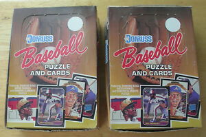 1987 Donruss  Baseball 2 boxes