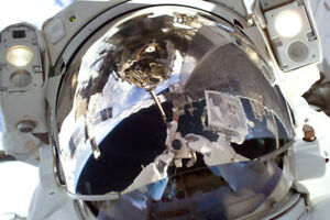 Astronaut International Space Station ISS Helmet Mask Reflection US Space Progra $7.99