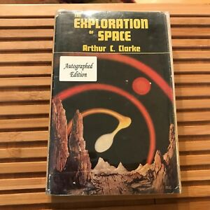 The Exploration of Space Arthur C Clarke (1951) UK True First Edition SIGNED