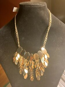Gold Tone BibStatement necklace from Dillard's Org $48