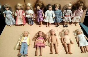 Mini American Girl Doll Lot of 13 In Original Clothing