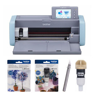 Brother ScanNCut DX Home Electronic Cutting Machine with Blade Bundle