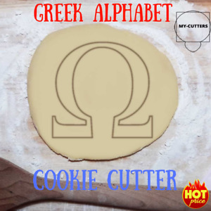 Greek Alphabet Cookie Cutter. Greek Letter Cookie Cutter. Sorority Party Favor