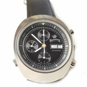 Vintage Swiss Made WINCHESTER automatic chronograph watch Valjoux 7750